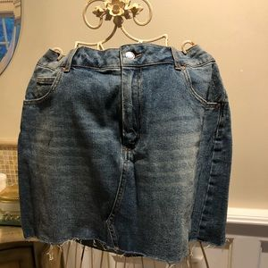 WILD FABLE Denim Mini